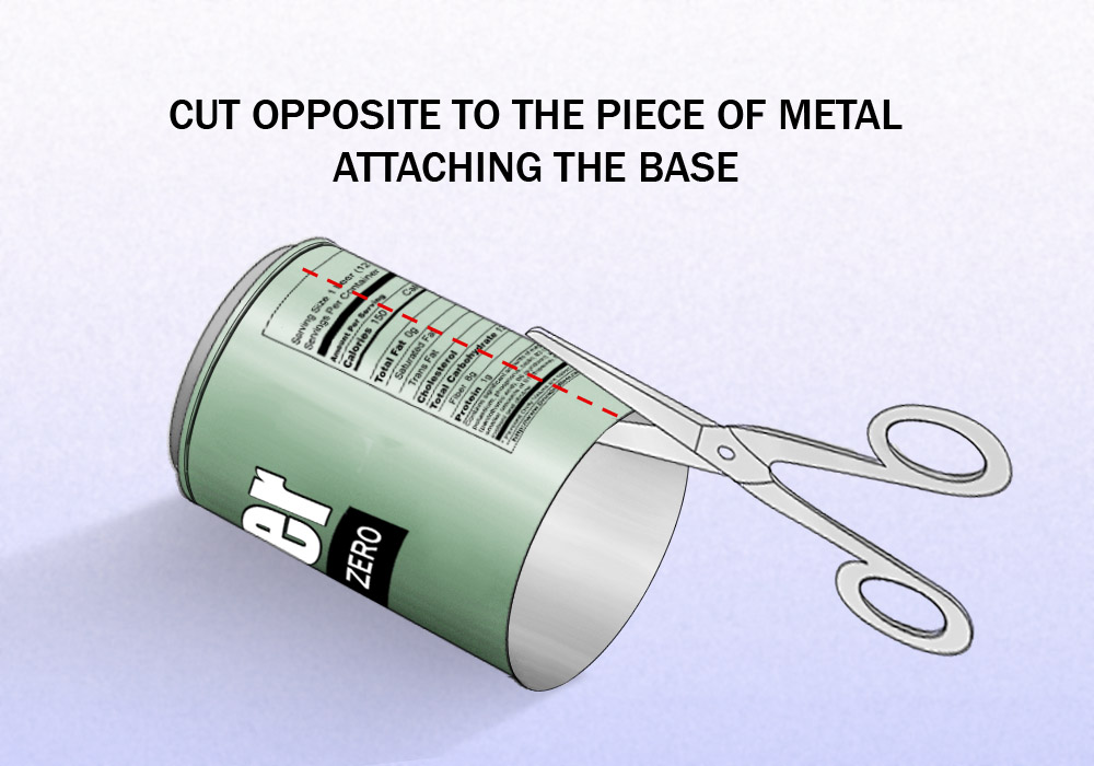 Cut-along-the-middle-of-the-can-Step-5