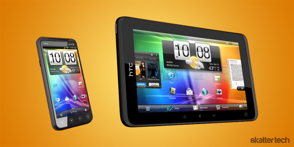 HTC EVO VIEW 5