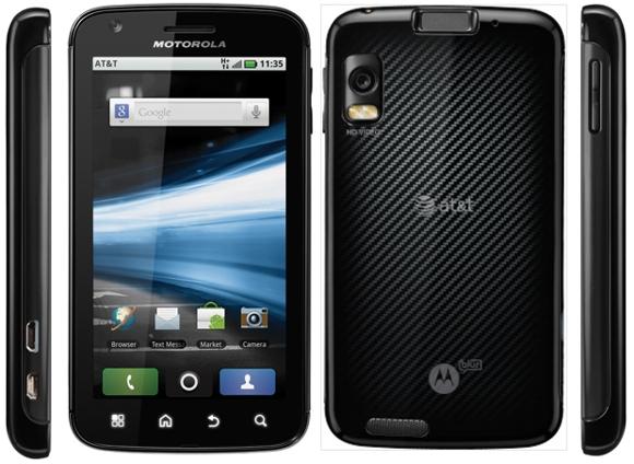 Motorola-ATRIX-4G-front