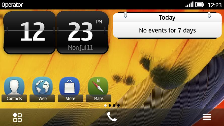 Symbian-Belle-UI