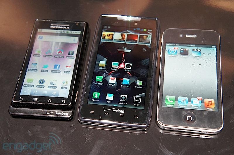 Droid RAZR iPhone 4S