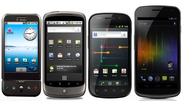 Evolution-Google-Smartphones