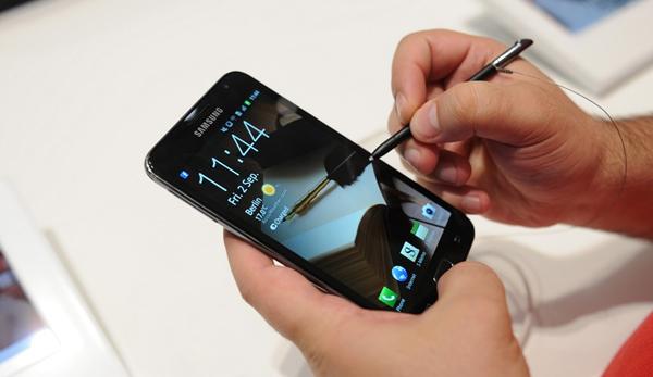 Samsung Galaxy Note Writing 2