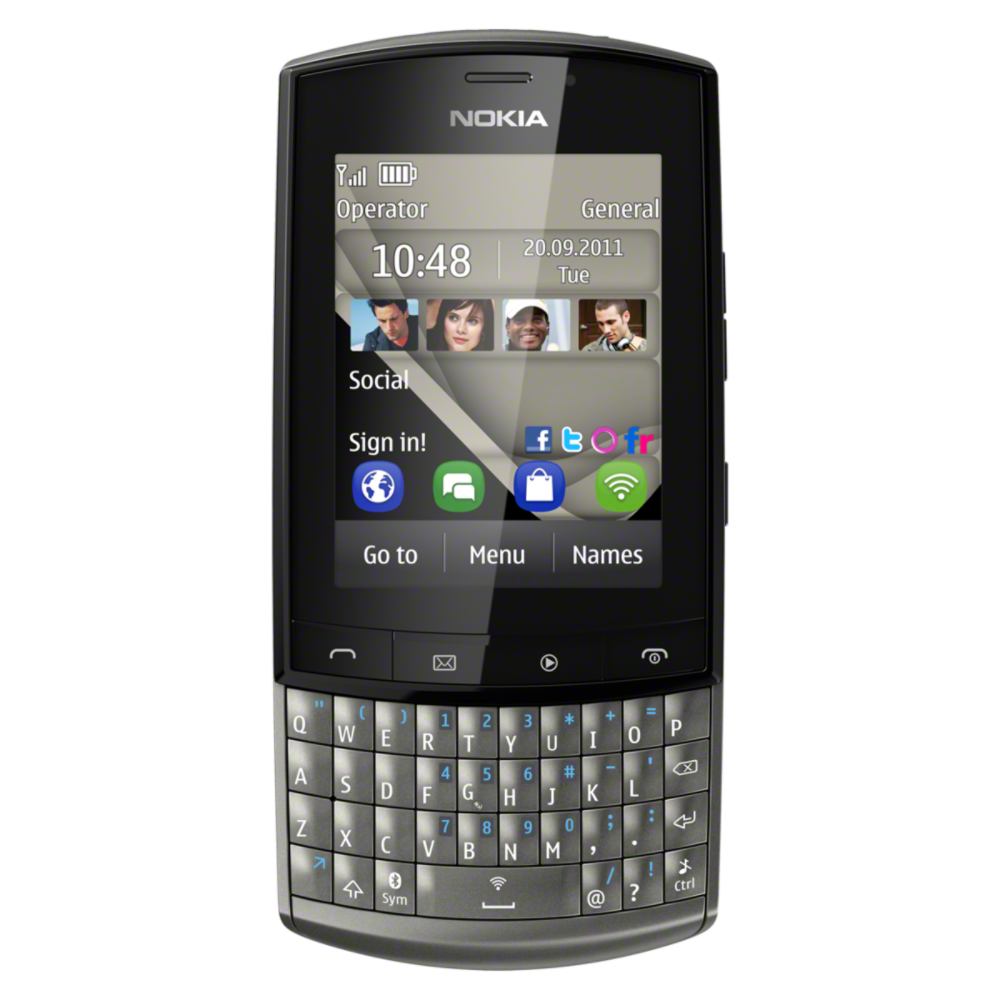 Nokia_303_graphite_Front_1200x1200