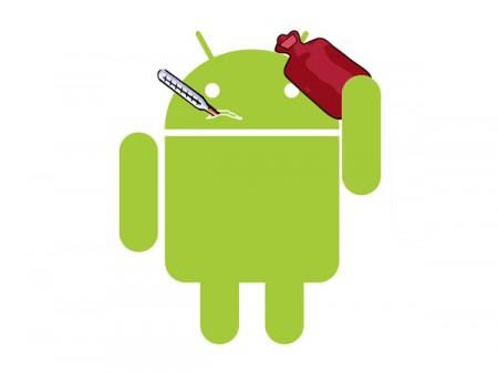 Sick-Google-Android-Robot