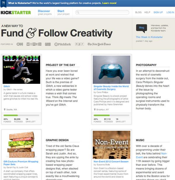 Kickstarter-2012