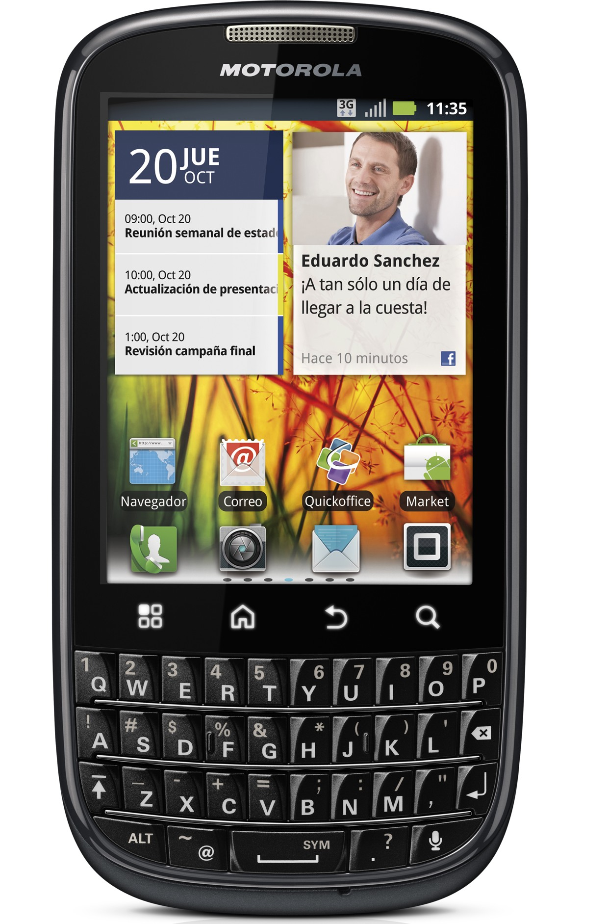Motorola PRO+ Front_BlankScreen