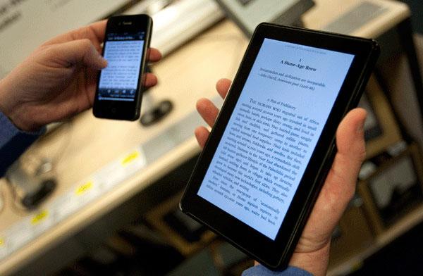 Para dormir bien es mejor leer un libro que un tablet