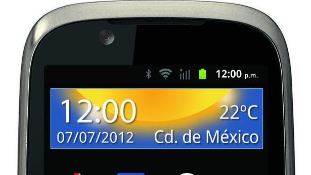 Motorola Spice XT frente