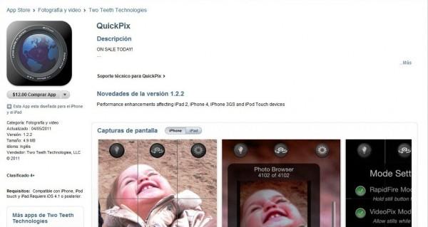 Screenshot QuickPix