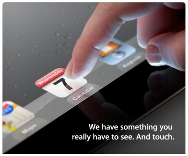 Invitación Apple 7 de marzo