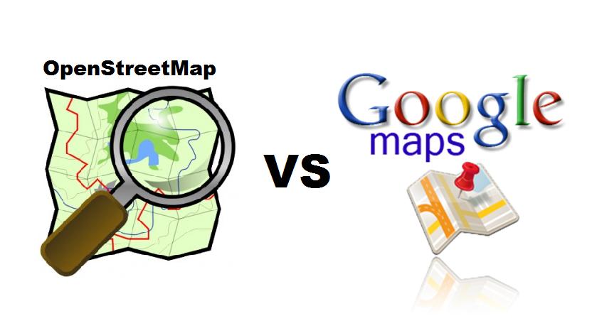 GoogleMapsvsOSM