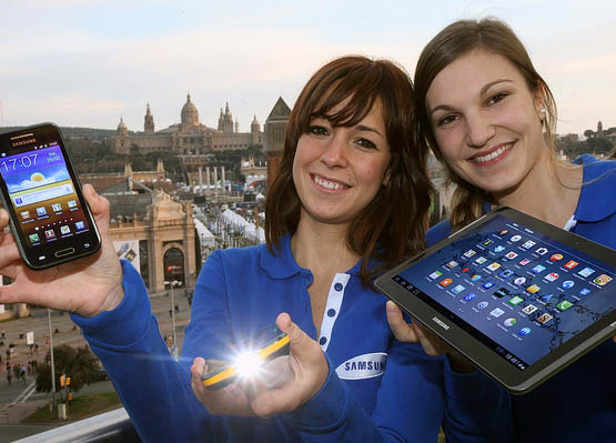 Smart-Projector-Samsung-Galaxy-Beam-at-MWC-2012