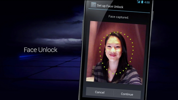 face-unlock-ics