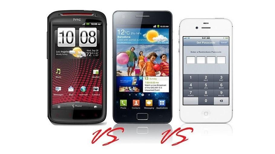 htc-sensation-xe-vs-samsung-galaxy-s-ii-vs-apple-iphone-4s