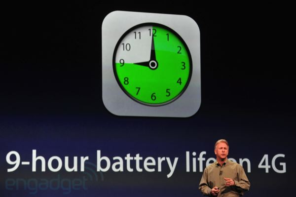 ipad battery life in 4G
