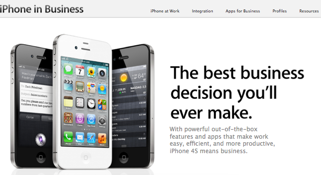iphoneinbusiness