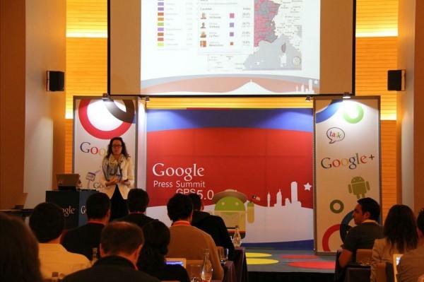 Google Press Summit 2012