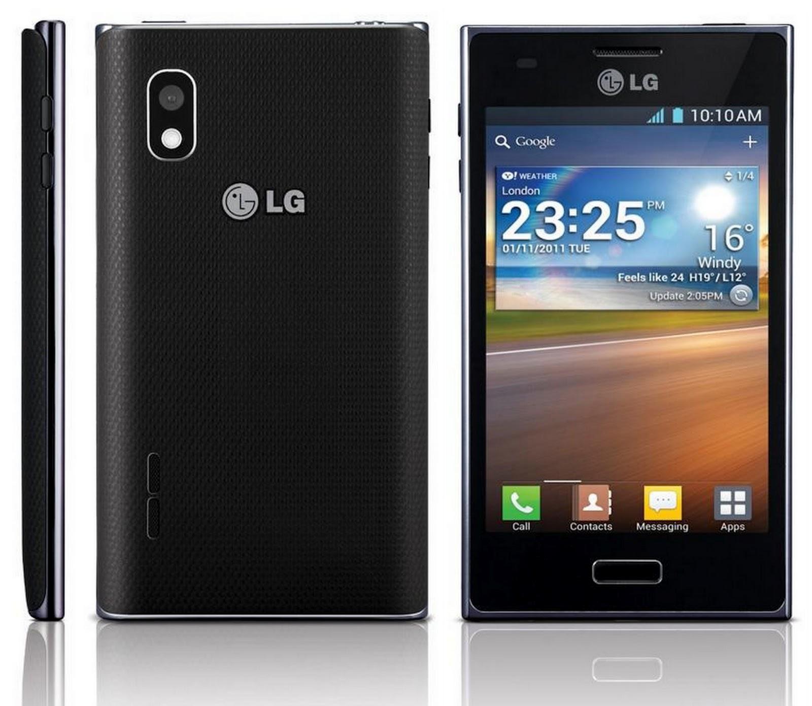LG presenta en México sus smartphones Serie L y el Optimus 3D MAX