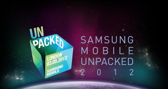 Samsung Mobile Unpacked 2012 London