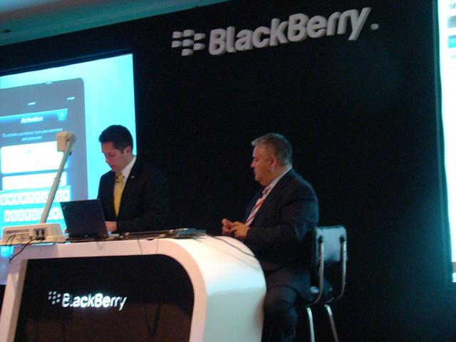 BlackBerry Mobile Fusion 11