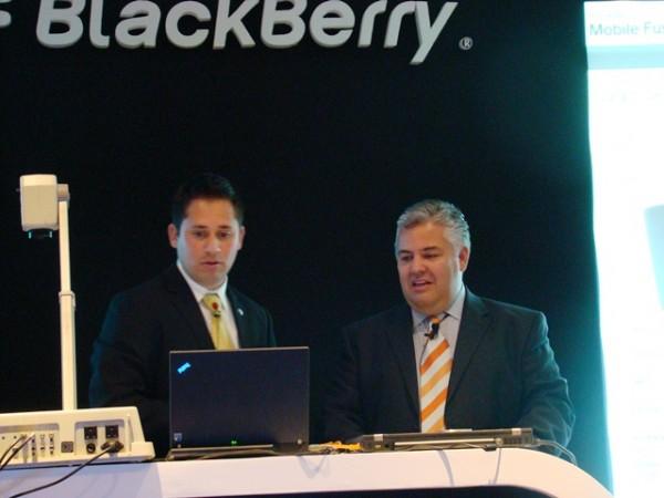 BlackBerry Mobile Fusion 3