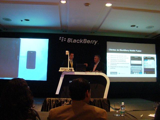 BlackBerry Mobile Fusion 6
