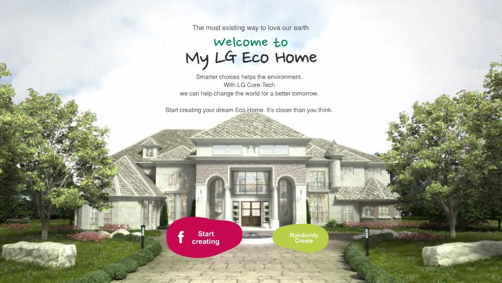 My lg eco home una aplicaci n para dise ar tu casa - Disenar tu propia casa ...