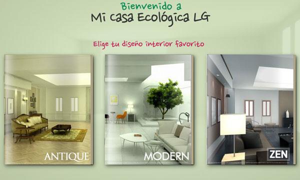 Crea tu casa ecologica con LG 2