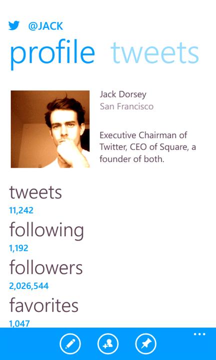 Twitter Windows Phone2