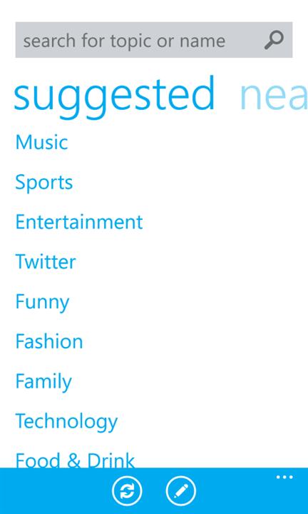 Twitter Windows Phone4