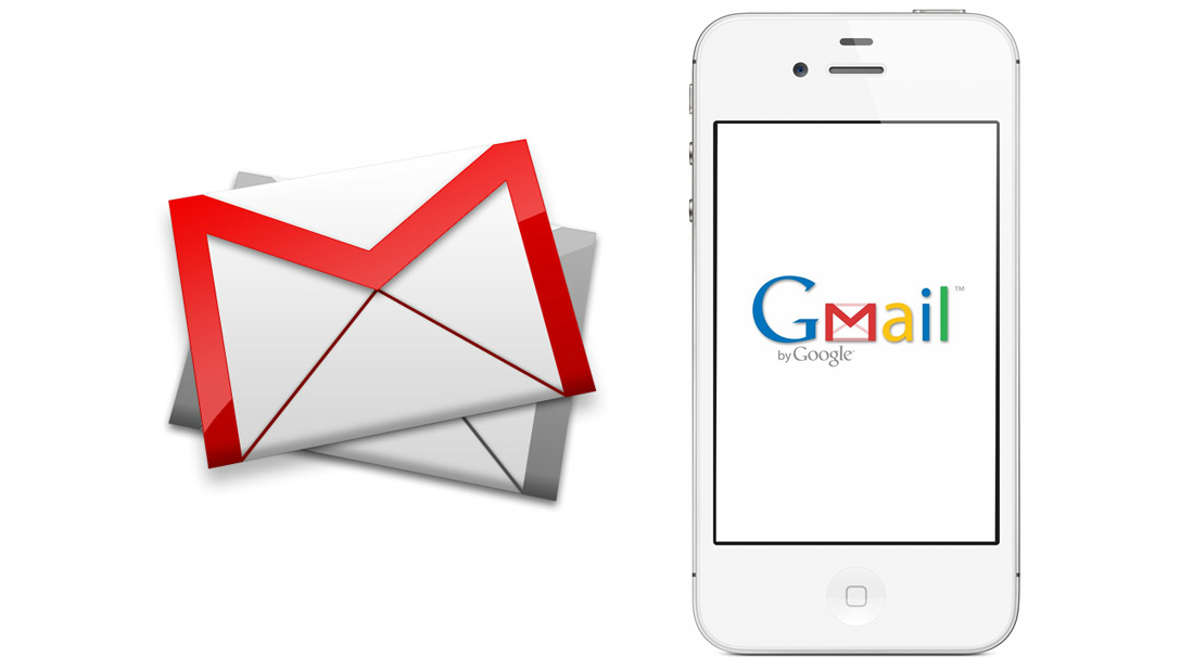 iPhone-4S-Gmail