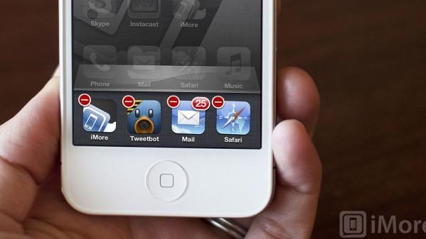 Apple iPhone 4S multitasking dock