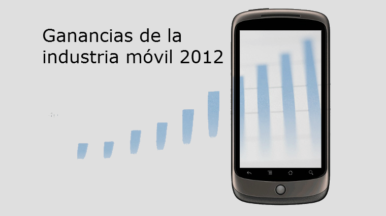 Ganancias industria móvil 2012
