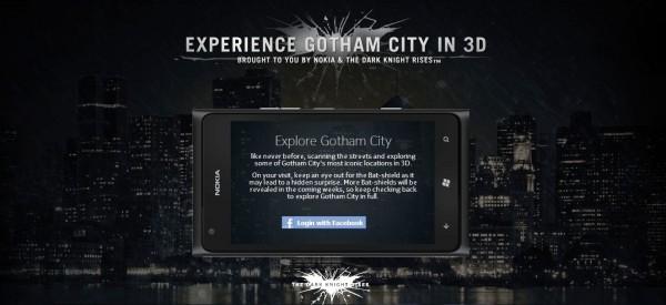 Nokia mapa de Ciudad Gótica