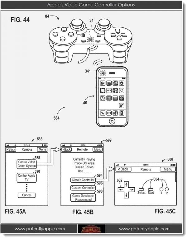 Juegos patente iPhone
