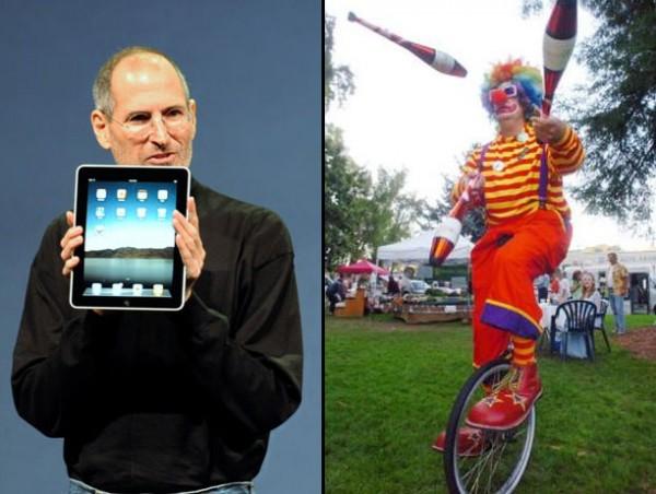 iPad robada de Steve Jobs