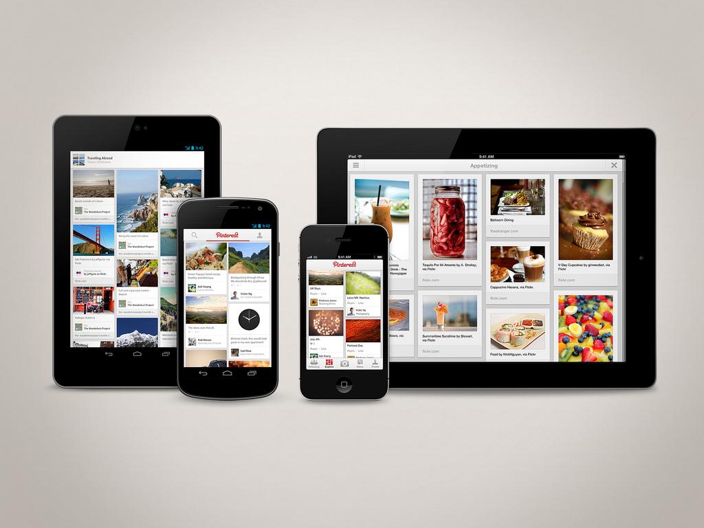 Pinteres lanz sus apps móviles | PoderPDA