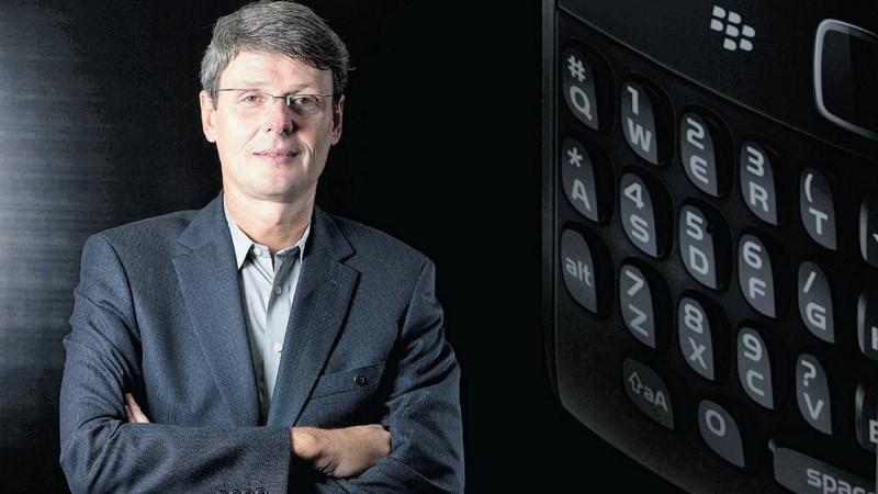 Thorsten Heins, CEO de BlackBerry RIM desde 2012