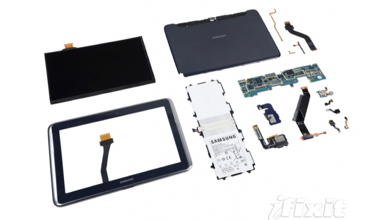 Galaxy Note 10.1 iFixit