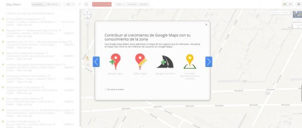 Google Maps Maker