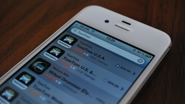 TomTom iOS update