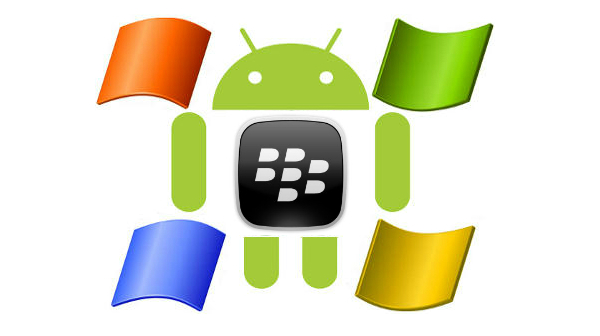 Windws Phone-BB-Android