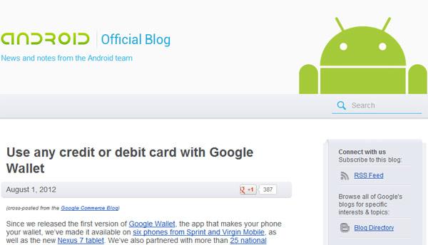 Blog oficial de Android