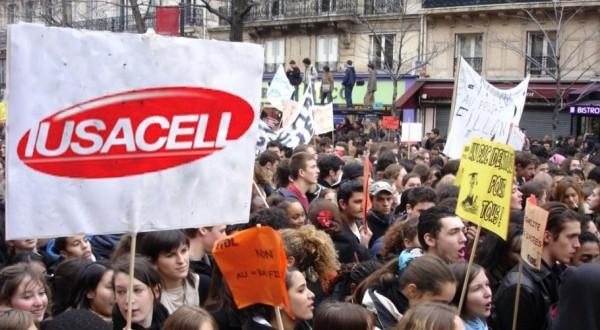 Iusacell Protesta