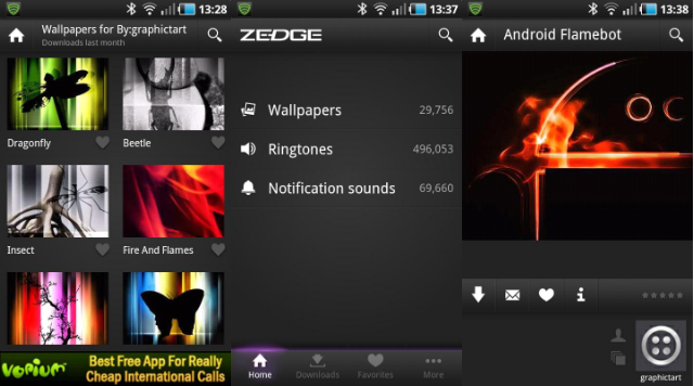 Zedge-para-Android