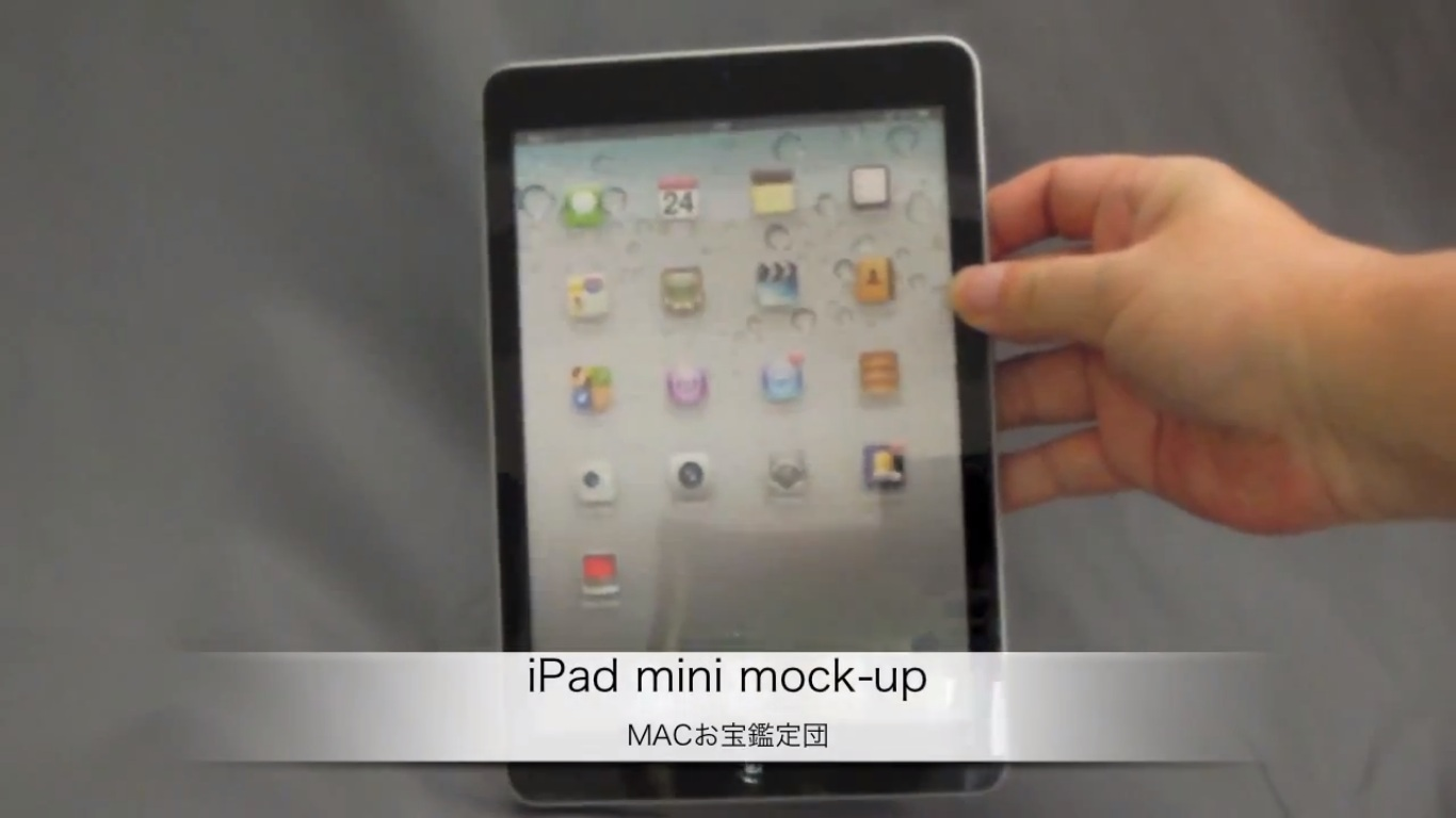 iPad Mini- Muck-up