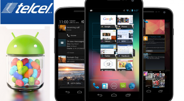 jelly bean telcel galaxy nexus