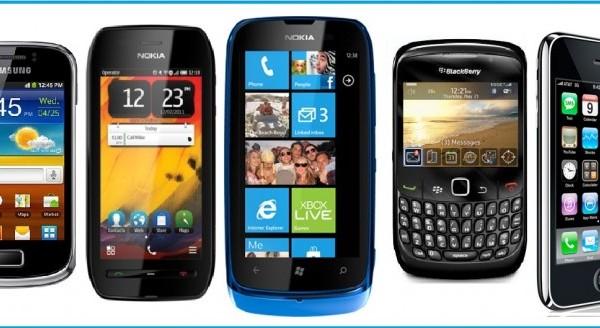 smartphones gama baja