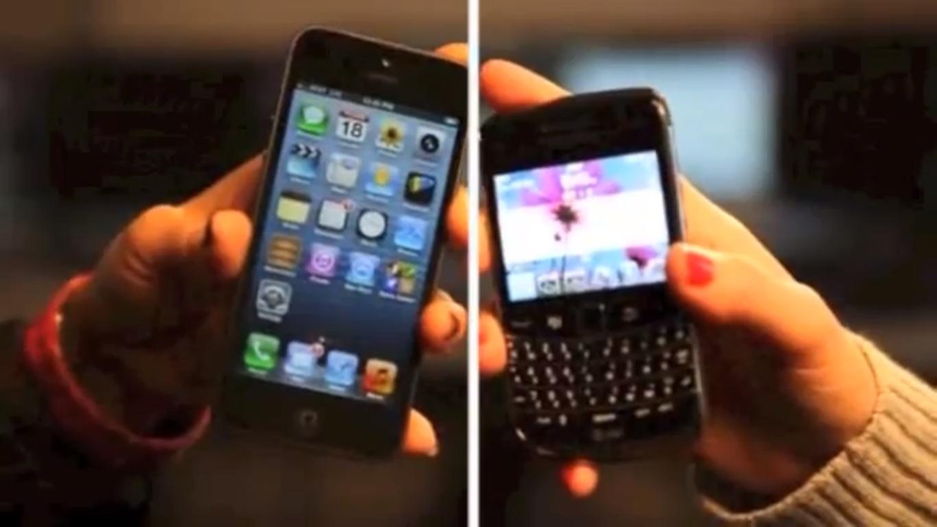BB vs iPhone